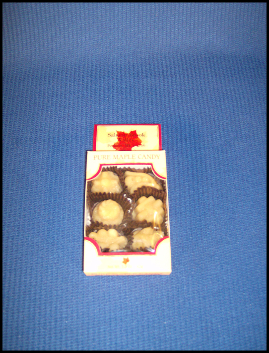 Maple Candy 6-piece box
