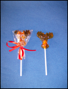 Moose Pop (maple-flavored lollipop)